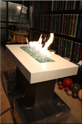 Sam Consos fire table